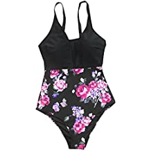 Cupshe Fashion Mist and Noct Crochet One-Piece Swimsuit Beach Swimwear Bathing Suit