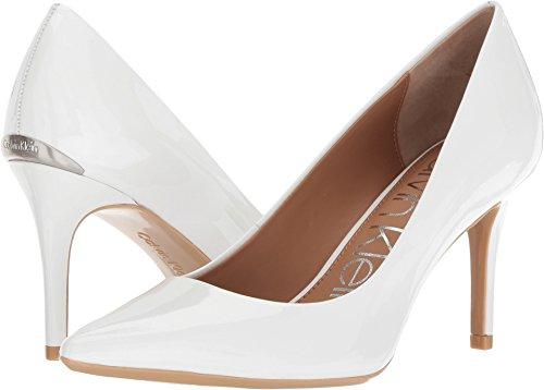 - Calvin Klein Women's Gayle Platinum White 9.5 M US