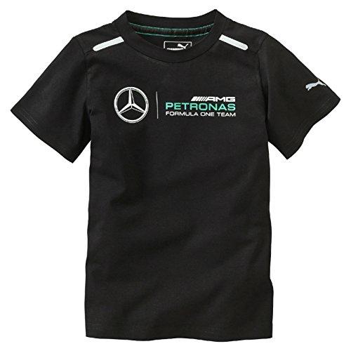MERCEDES AMG PETRONAS Kinder Kids Logo Tee 2016 Black T-Shirt, Schwarz, 152