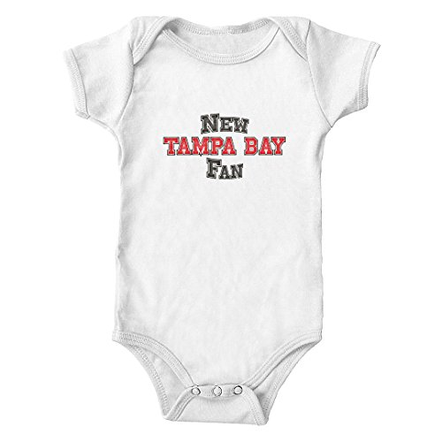 (New Tampa Bay Fan Infant One-Piece Bodysuit (White, 6M))