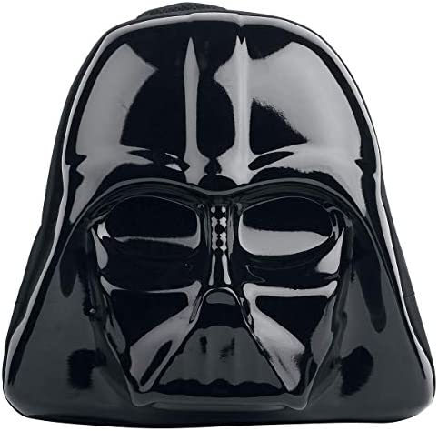 Star Wars The Force Awakens Darth Vader Mask 3D Shaped Backpack (Bp091408Stw) Mochila tipo casual 45 centimeters Negro (Black): Amazon.es: Ropa y accesorios