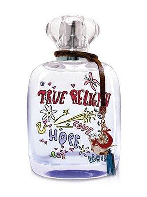 (True Religion Love Hope Denim for Women Gift Set - 3.4 oz EDP Spray + 3.0 oz Body lotion + 3.0 oz Shower Gel + 0.25 oz EDP Mini)