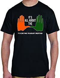 "U of M Short Sleeve Graphic T-Shirt - All About the ""U"", It's A Cane Thing -"