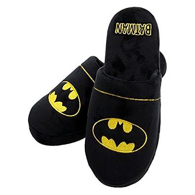 Officiel DC Batman Logo Adulte Mule Slip On Chaussons 2 Tailles Disponibles