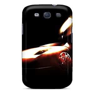 Galaxy S3 Barchetta Print High Quality Tpu Gel Frame Case Cover