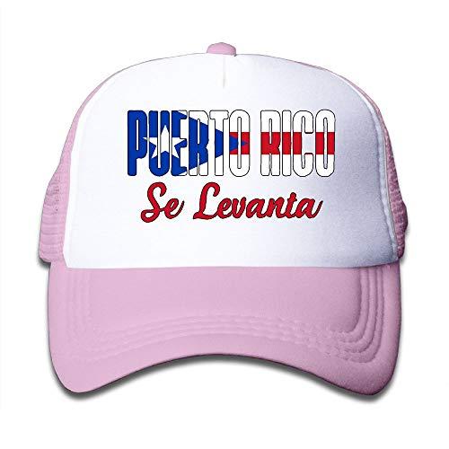 Puerto Rico Se Levanta On Children's Trucker Hat, Youth Toddler Mesh Hats Baseball Cap
