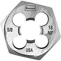 Hanson 6854 Die 5/8-18 1 7/16 NF Sh, for Tap Die Extraction by Hanson