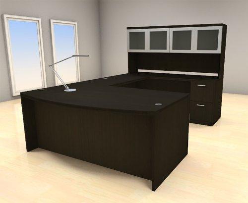 5pc U Shape Modern Executive Office Desk Set, #CH-AMB-U68 (Sets Furniture Desk Executive)