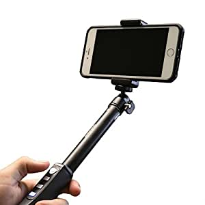 Selfie Stick Bluetooth Monopod Pole by iStabilizer | Extendable - For all Smartphones - Made from Aircraft Grade Aluminum