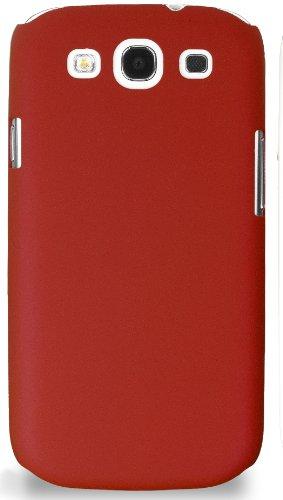 Horny Protectors - Carcasa rígida para Samsung Galaxy S3 i9300, color rojo