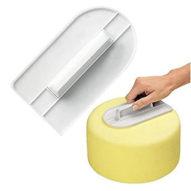 Fondant Smoother Backer Baking and Cake Decorating Supplies Spatula Smoother Comb Set Cake Edge Side Decorating Tools