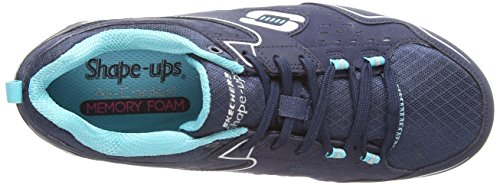 2 nbsp;Everyday 0 Shape Comfort Bleu ups Nvlb Skechers Sneakers Basses Femmes ExC6qw