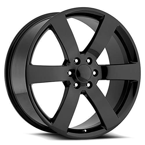 OE Creations 165 Trailblazer SS Replica 22x9 6x127 +44mm Gloss Black Wheel - Chevy Rims 22 Trailblazer