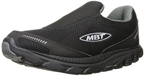 MBT Herren Speed 16 Slip On M Fitnessschuhe verschiedene Farben (Black /   Gray)