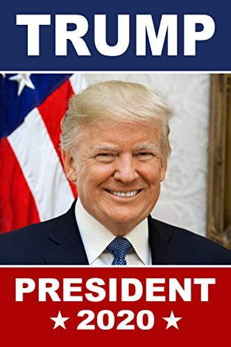 classicpix poster 12x18 donald trump for president in 2020 with portrait
