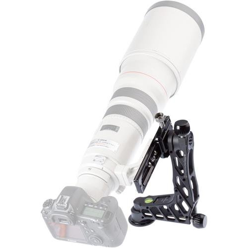 ProMediaGear GKJrC Katana Junior Telephoto Lens Gimbal Head without Cradle Clamp, 22lbs Capacity by ProMediaGear