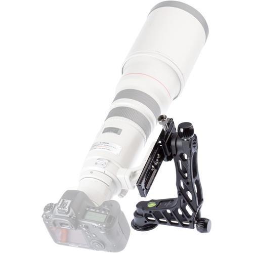 ProMediaGear GKJrC Katana Junior Telephoto Lens Gimbal Head Without Cradle Clamp, 22lbs - Clamp Junior
