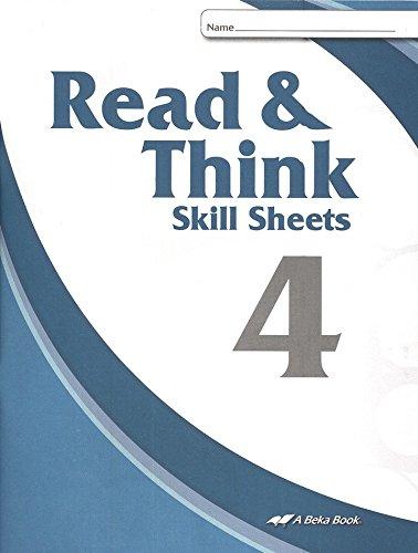 Read & Think Skill Sheets 4 - Second Edition / A Beka Book: A Beka ...