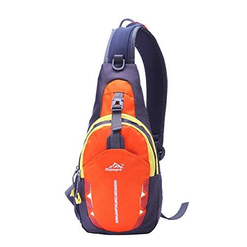 SAMI STUDIO Shoulder Backpack,Portable Multi-Functional Waterproof Unisex Outdoor Sports Chest Pack Bum Bag Sling Bag Hiking Daypacks Adjustable Strap Shoulder Backpack Cross Body Bag …