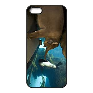 Elphant And Sea Lion Hight Quality Plastic Case for Iphone 5s