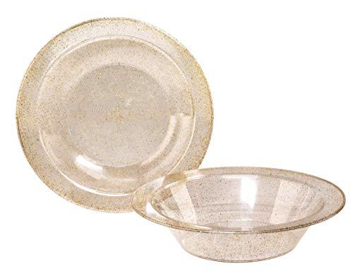 Gold Glitter Bowl -