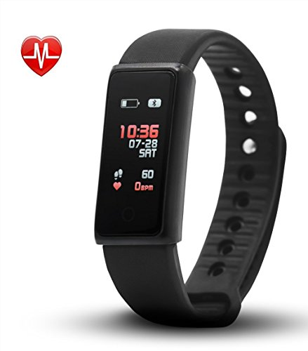 Career M Fitness Tracker Activity Watch with Heart Rate Monitor Sleep  Health Monitoring
