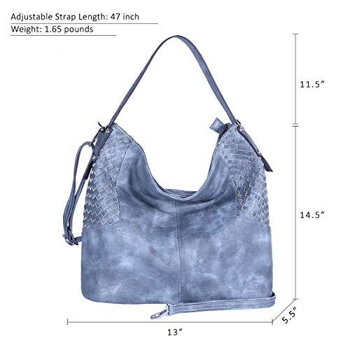 Amazon.com: Zocai - Bolso de piel sintética para mujer y ...