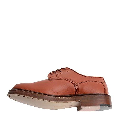 Trickers Hombre Kendal Derby Oxford Zapatos 7060g Shade Tan Sz 6 (reino Unido)