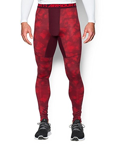 Under Armour Men's ColdGear Armour Printed Compression Leggings
