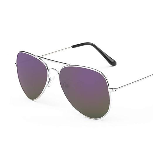 Yangjing-hl Gafas de Sol de aviación Moda para Mujer Gafas de Sol ...