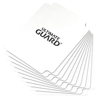 Ultimate Guard 10 White Card Dividers: Toys & Games