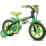 """Nathor Bicicleta Aro para crianças, Tamanho da roda 12"""", Verde/Preto"""