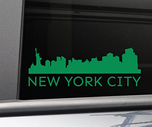 New York City Vinyl Decal Laptop Car Truck Bumper Window Sticker, 8