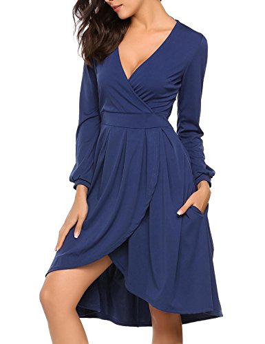 V-Neck Dress - 7