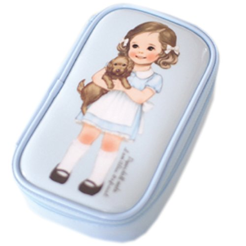 Paper Doll Mate (Afrocat Paper Doll Mate Make Up Pouch S (Blue(Alice)))