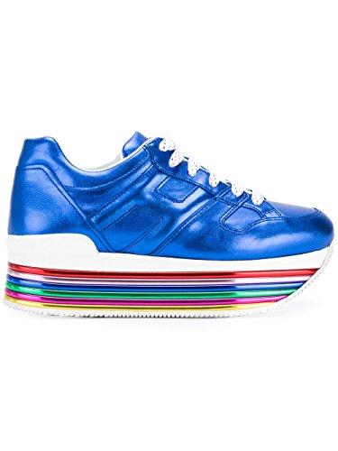 Sneakers Pelle Blu Hogan Donna GYW3520T548SV0U605 8ZndWXq