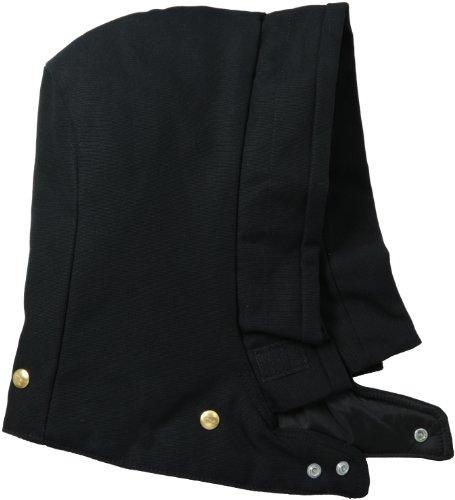 Carhartt Men's Arctic Quilt Lined Duck Hood, Black, SM-XL