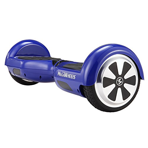 MegaWheels 6.5′ Hoverboard UL 2272 Certified Self-Balancing Smart Scooter (Blue)