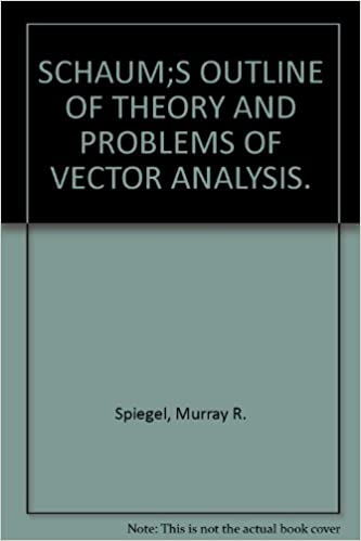 Vector Analysis By Murray R Spiegel Pdf