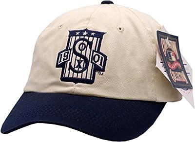 Chicago White Sox Hat Buckle Back 1901 Logo 2-Tone 12126