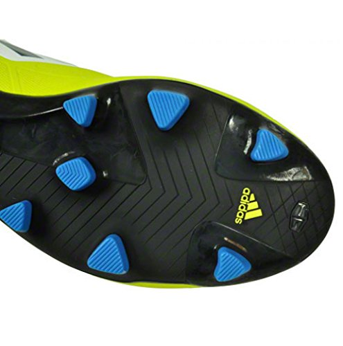 Adidas F30 Trx Fg Blanc Jaune Bleu Homme Chaussure Foot F50 Adidas