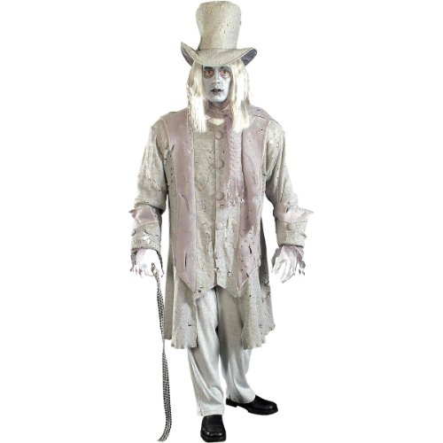 Gentleman Halloween Costumes (Adult Ghostly Gentleman Costume Standard)