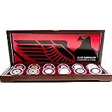 Amazon.com: Luna cuchillos 3 x 5 alemán hierro cruz Gott Mit ...