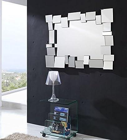 Espejos De Diseno Y Cristal Modelo Suenos De 118x88x5cms Amazon - Espejos-diseo