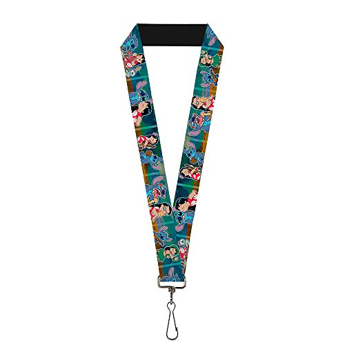 Buckle-Down Lanyard - Lilo & Stitch 5-Scene