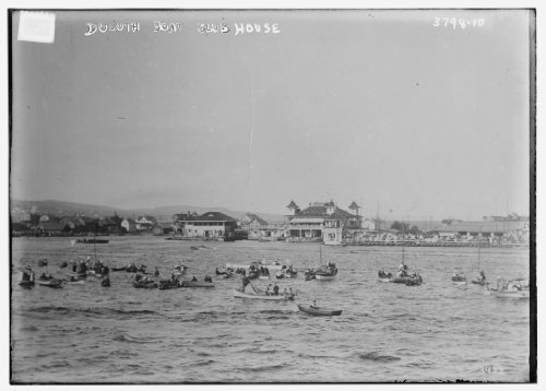 Boat Clubhouse - Photo (L): Duluth Boat Club House