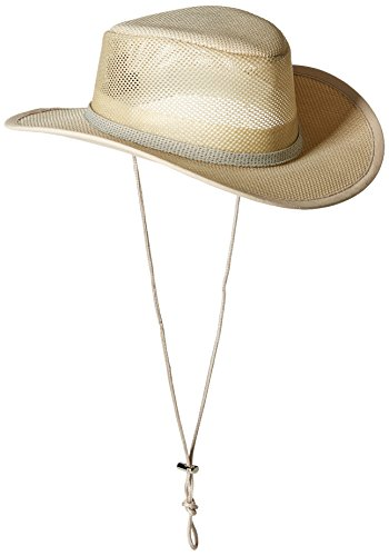 Stetson Men's Mesh Covered Hat, Natural, Large ()