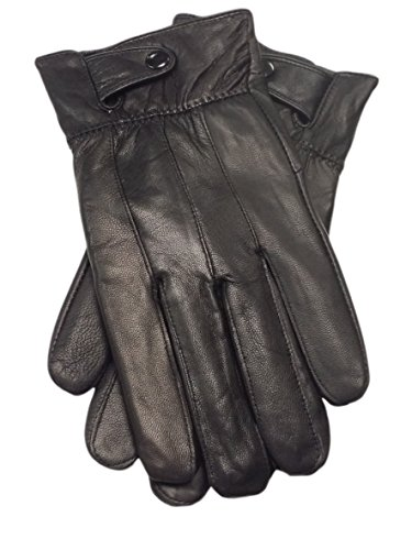 Reed Men's Genuine Leather Warm Lined Driving Gloves (L, (Winter Reed)