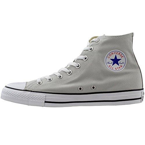 Converse Womens Chuck Taylor All Star Femme Plus Star HI Trainers Mouse/white/black 2ICmpk6kr