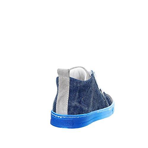 Falcotto 0012010936.07.9161 Zapatillas de Deporte Altas Boy Azul/Gris